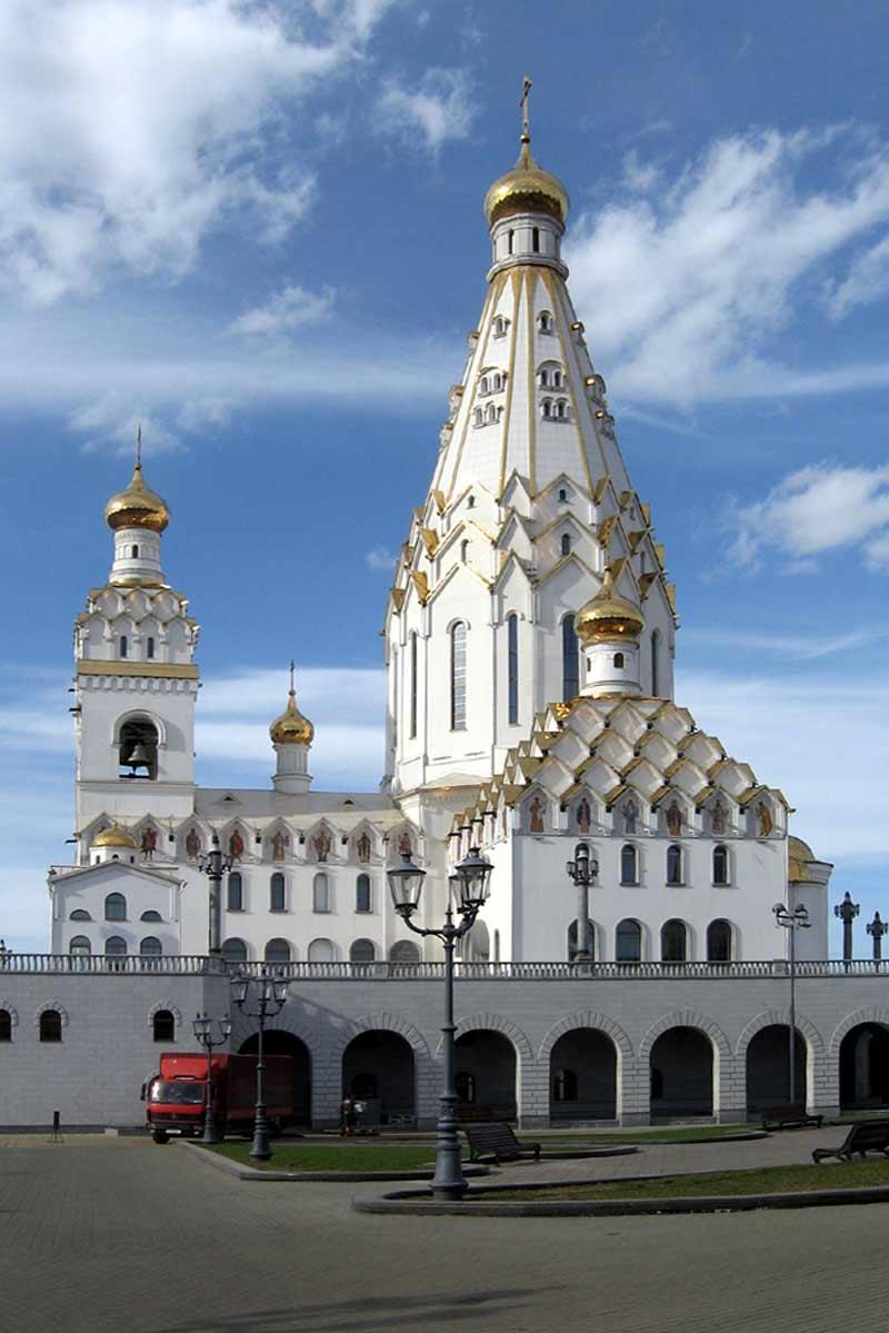 Храм всех святых в Минске. Всехсвятская церковь в Минске ...
