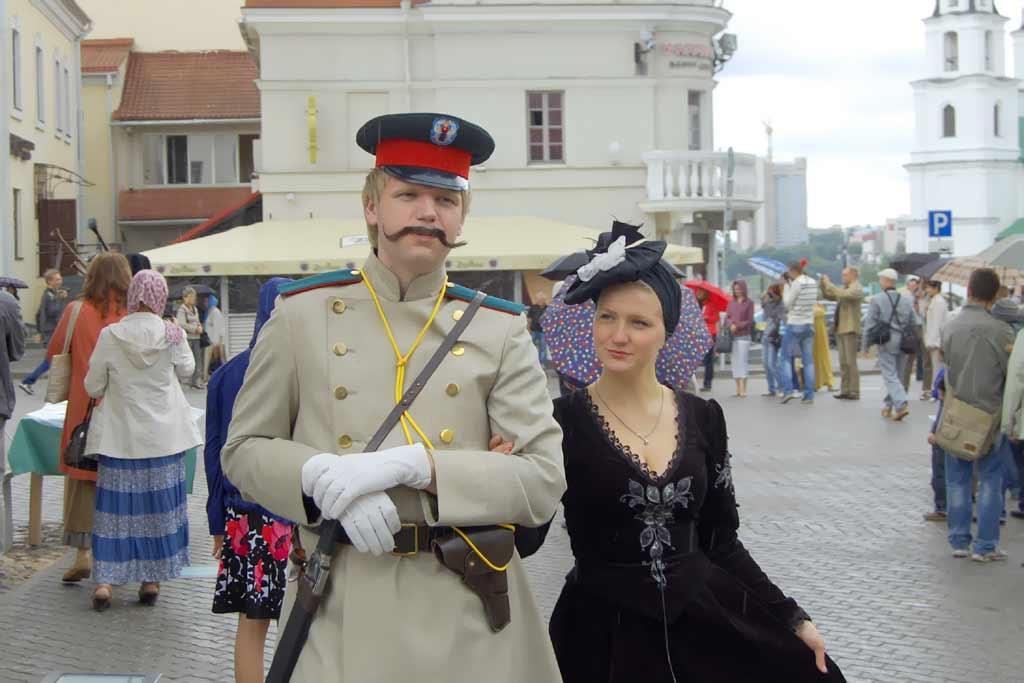 Прогулка по интересным местам Минска. Фотографии. Картинка